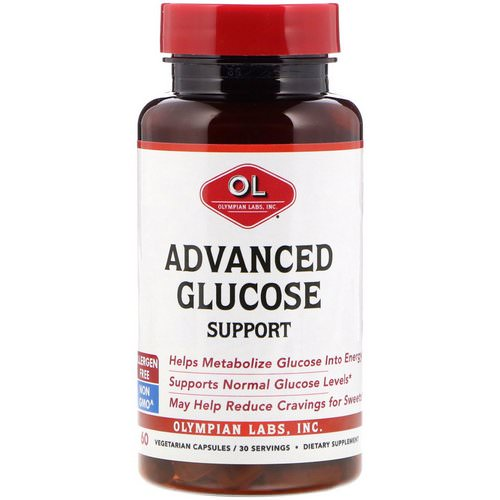 Olympian Labs, Advanced Glucose Support, 60 Vegetarian Capsules Review