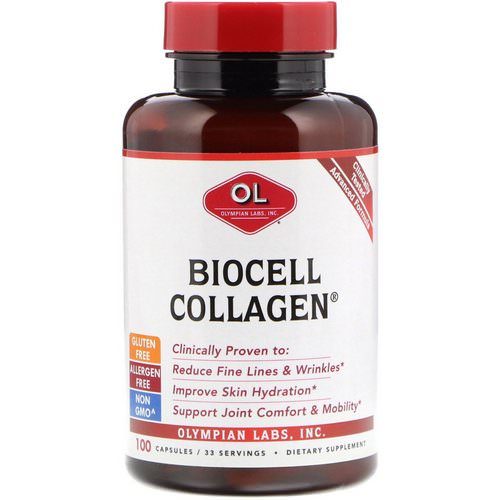 Olympian Labs, BioCell Collagen, 100 Capsules Review