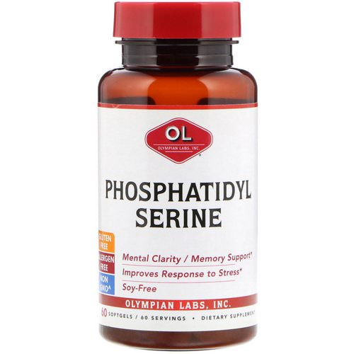 Olympian Labs, Phosphatidylserine, 60 Softgels Review