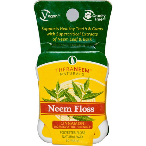 Organix South, TheraNeem Naturals, Neem Floss, Cinnamon, 50 Yards Review