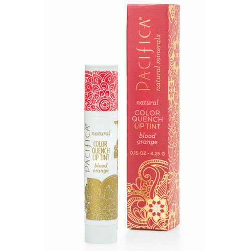 Pacifica, Natural Color Quench Lip Tint, Blood Orange, 0.15 oz (4.25 g) Review