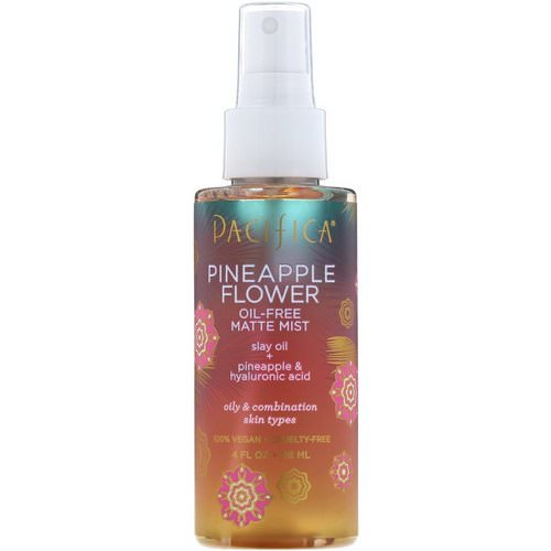 Pacifica, Pineapple Flower, Oil-Free Matte Mist, 4 fl oz (118 ml) Review