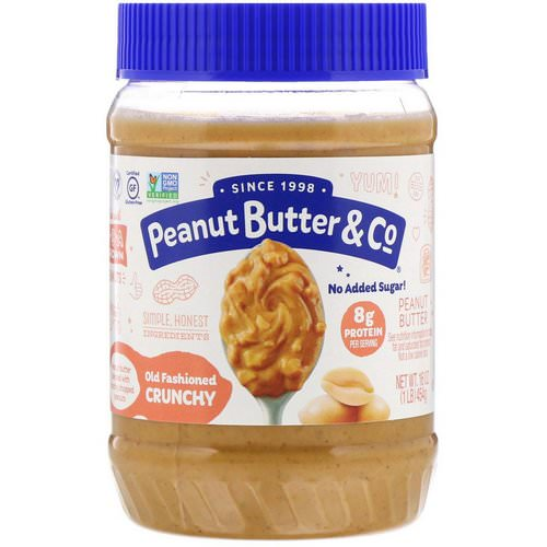 Peanut Butter & Co, Old Fashioned Crunchy, 100% Natural Crunchy Peanut Butter, 16 oz (454 g) Review