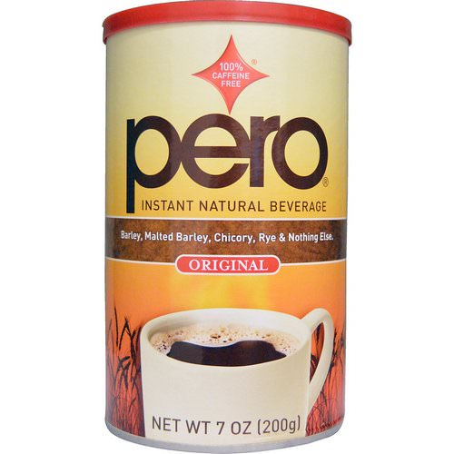 Pero, Instant Natural Beverage, Caffeine Free, Original, 7 oz (200 g) Review