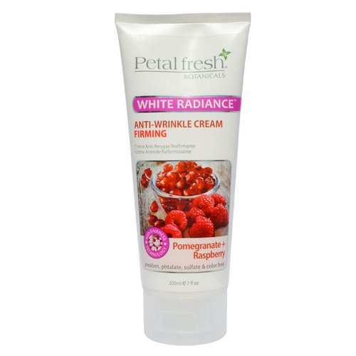 Petal Fresh, Botanicals, Anti-Wrinkle Cream, Firming, Pomegranate + Raspberry, 7 fl oz (200 ml) Review