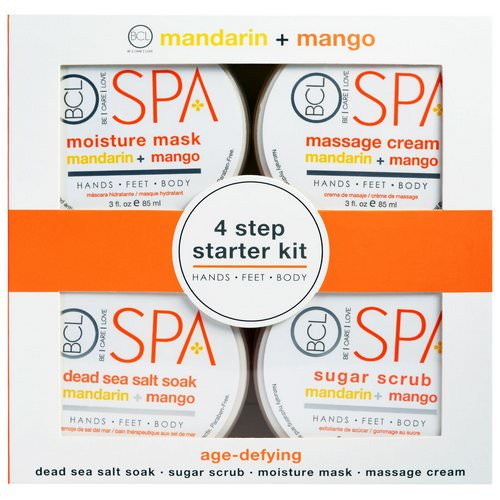 Petal Fresh, Spa, 4 Step Starter Kit, Age Defying, Mandarin + Mango, 4 - 3 fl oz (85 ml) Each Review