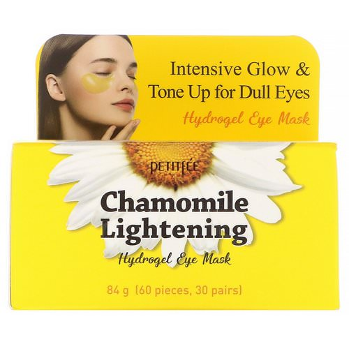Petitfee, Chamomile Lightening, Hydrogel Eye Mask, 30 Pairs Review