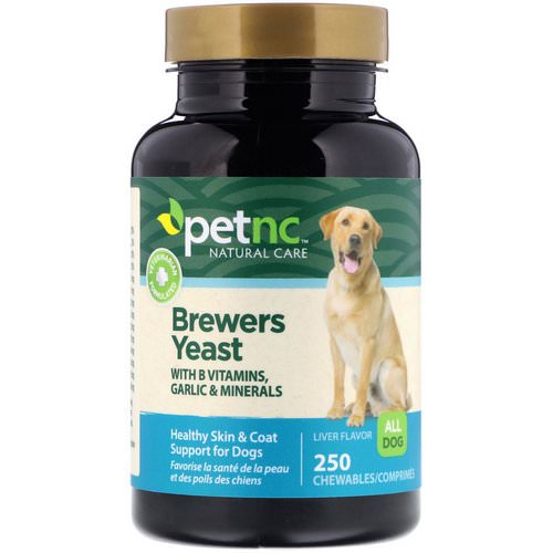 petnc NATURAL CARE, Brewers Yeast, Liver Flavor, 250 Chewables Review