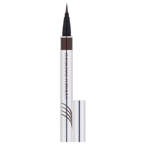 Physicians Formula, Eye Booster, Ultra Fine Liquid Eyeliner with Lash Conditioning Serum, Deep Brown, 0.016 fl oz (0.5 ml) Review