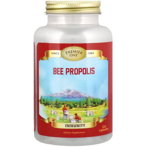 Premier One, Bee Propolis, 120 Capsules Review