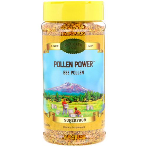 Premier One, Pollen Power, Granules Bee Pollen, 10 oz (284 g) Review