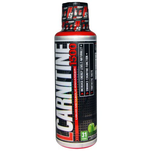 ProSupps, L-Carnitine 1500, Green Apple, 16 fl oz (473 ml) Review