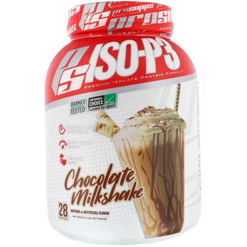 ProSupps, PS ISO-P3, Chocolate Milkshake, 2 lb (907 g) Review
