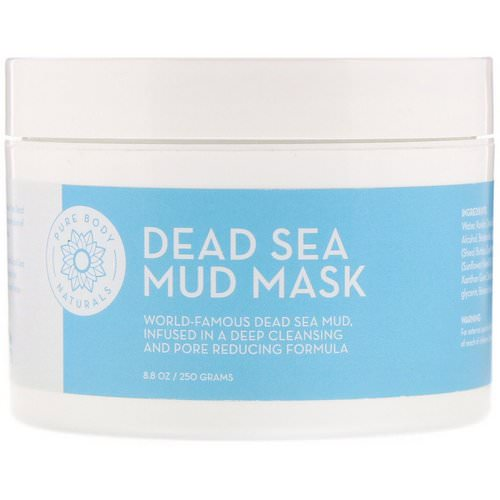 Pure Body Naturals, Dead Sea Mud Mask, 8.8 oz (250 g) Review