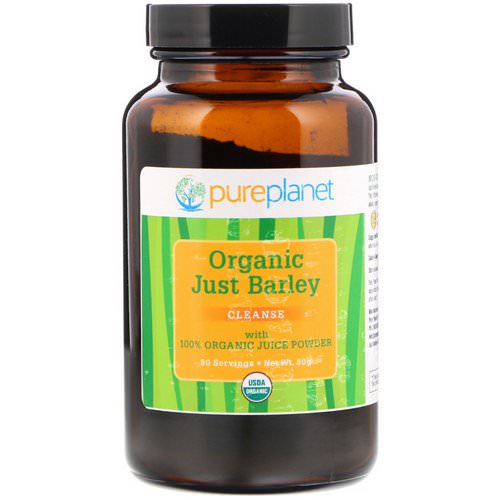 Pure Planet, Organic Just Barley, 80 g Review