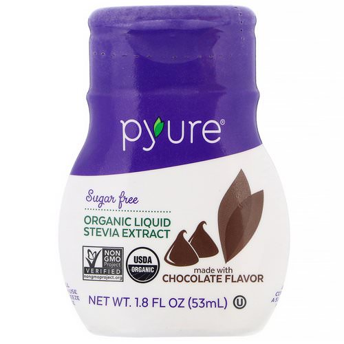 Pyure, Organic Liquid Stevia Extract, Chocolate, 1.8 fl oz (53 ml) Review
