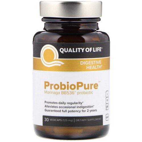 Quality of Life Labs, ProbioPure, 30 Veggie Caps Review