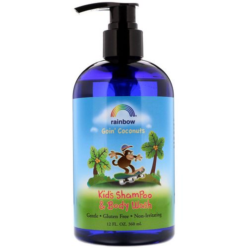 Rainbow Research, Kid's Shampoo and Body Wash, Goin' Coconuts, 12 fl oz (360 ml) Review