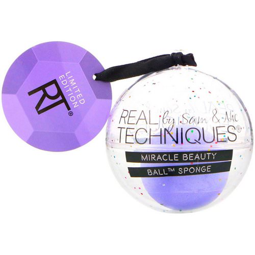 Real Techniques by Samantha Chapman, Limited Edition, Miracle Beauty, Ball Sponge, 1 Ball Sponge Review