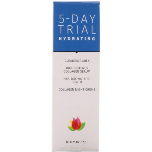 Reviva Labs, 5-Day Trial, Hydrating, 4 Piece Kit, 0.25 oz (7 g) Each Review