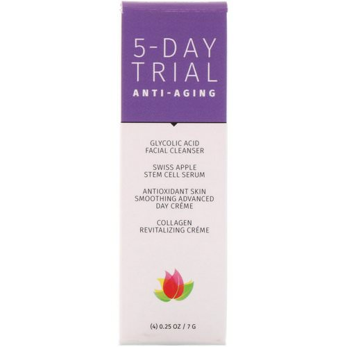 Reviva Labs, 5-Day Trial Kit, Anti-Aging, 4 Piece Kit, 0.25 oz (7 g) Each Review