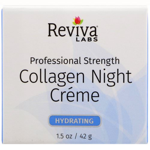 Reviva Labs, Collagen Night Creme, 1.5 oz (42 g) Review