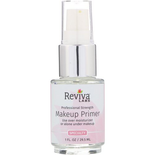 Reviva Labs, Makeup Primer, 1 fl oz (29.5 ml) Review