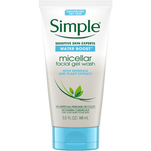 Simple Skincare, Micellar Facial Gel Wash, 5 fl oz (148 ml) Review