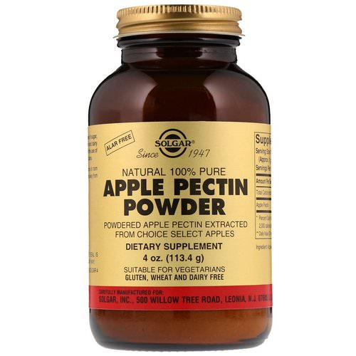 Solgar, Apple Pectin Powder, 4 oz (113.4 g) Review