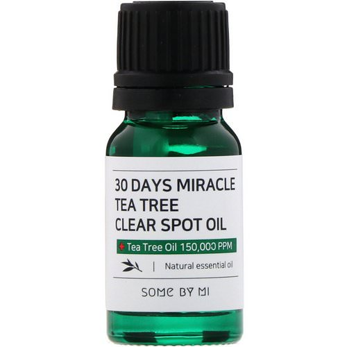 Some By Mi, 30 Days Miracle Tea Tree Clear Spot Oil, 10 ml Review
