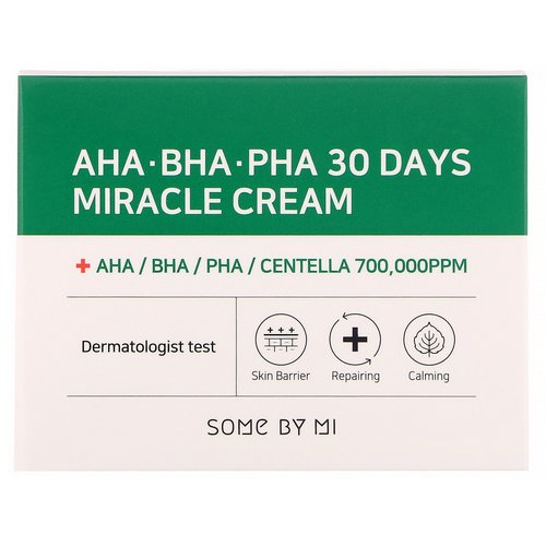 Some By Mi, AHA. BHA. PHA 30 Days Miracle Cream, 60 g Review