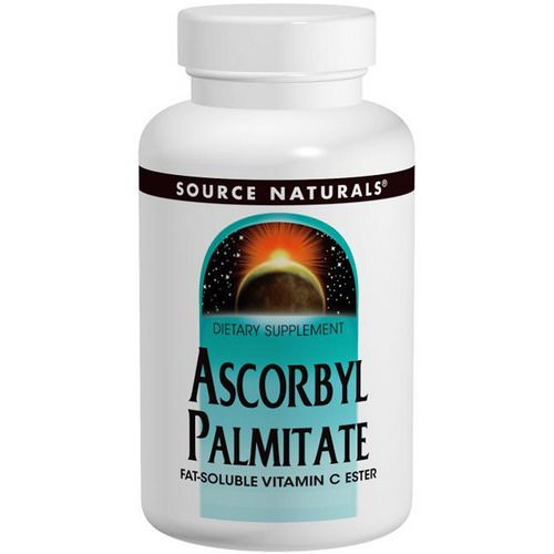 Source Naturals, Ascorbyl Palmitate, 500 mg, 90 Capsules Review