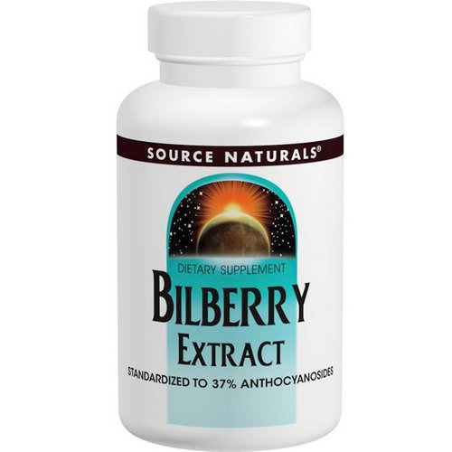 Source Naturals, Bilberry Extract, 50 mg, 120 Tablets Review