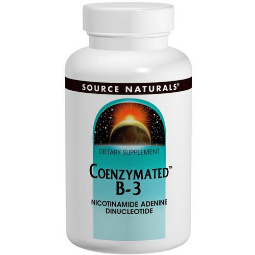 Source Naturals, Coenzymated B-3, Sublingual, 25 mg, 60 Tablets Review