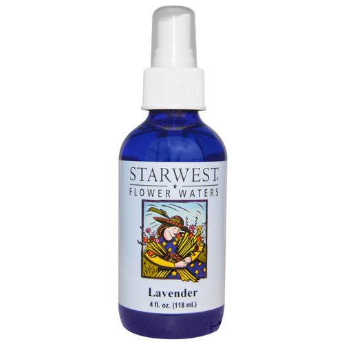 Starwest Botanicals, Flower Waters, Lavender, 4 fl oz (118 ml) Review