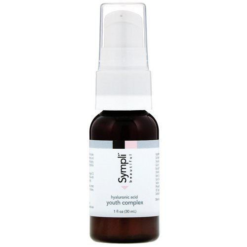Sympli Beautiful, Hyaluronic Acid Youth Complex, 1 fl oz (30 ml) Review