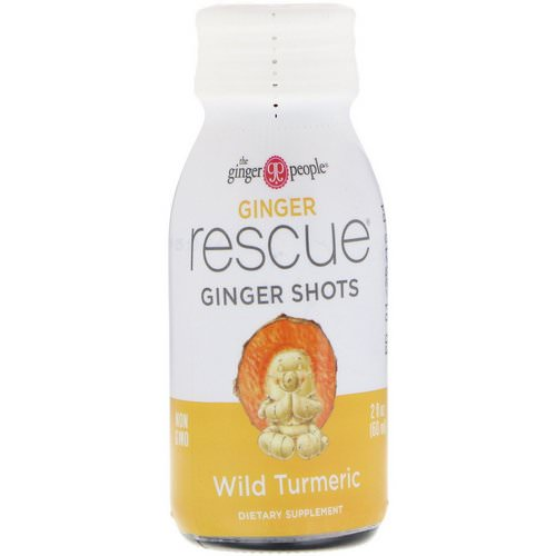 The Ginger People, Ginger Rescue Shots, Wild Turmeric, 2 fl oz (60 ml) Review