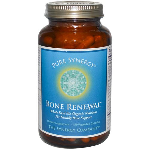 The Synergy Company, Bone Renewal, 150 Veggie Caps Review