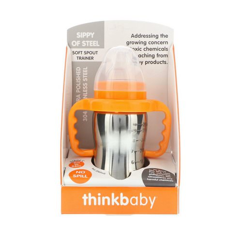 Think, Thinkbaby, Sippy of Steel, Stage C, 9 oz (260 ml) Review