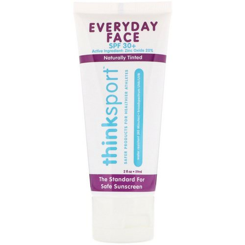 Think, Thinksport, EveryDay Face, SPF 30+, Naturally Tinted, 2 oz (59 ml) Review