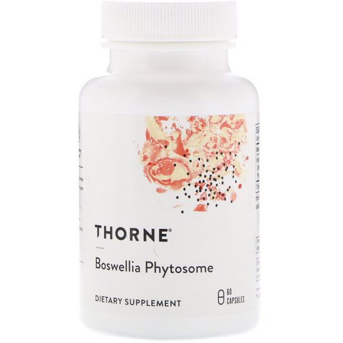 Thorne Research, Boswellia Phytosome, 60 Capsules Review
