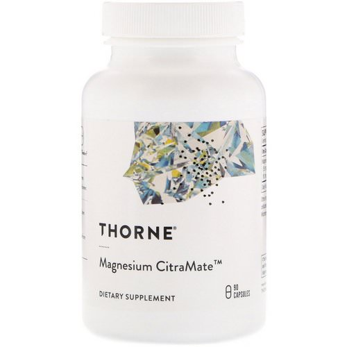 Thorne Research, Magnesium Citramate, 90 Capsules Review