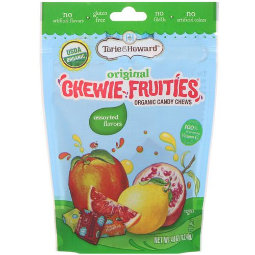 Torie & Howard, Organic Candy Chews, Original Chewie Fruities, Assorted Flavors, 4 oz (113.40 g) Review