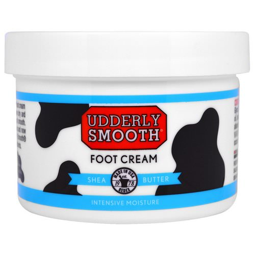 Udderly Smooth, Foot Cream, Shea Butter, 8 oz (227 g) Review