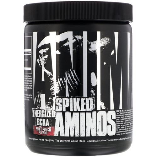 Universal Nutrition, Animal Spiked Aminos, Fruit Punch, 7.4 oz (210 g) Review