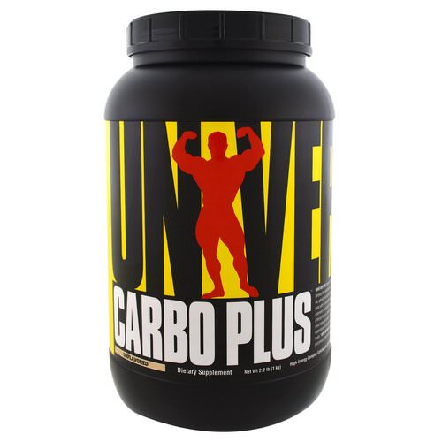 Universal Nutrition, Carbo Plus, High-Energy Complex Carbohydrate Drink Mix, Unflavored, 2.2 lb (1 kg) Review