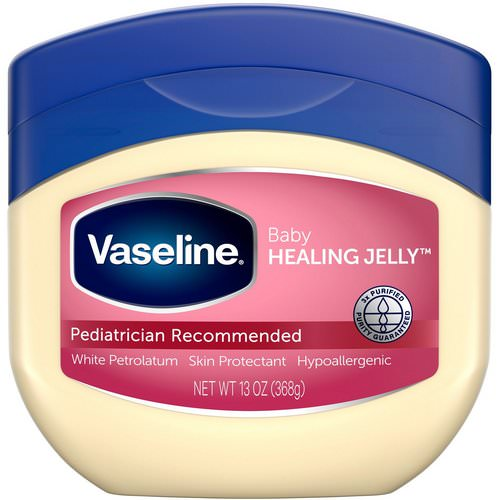 Vaseline, Baby Healing Jelly, Skin Protectant, 13 oz (368 g) Review