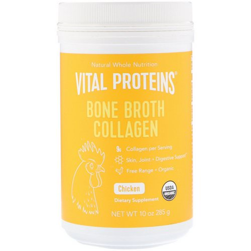 Vital Proteins, Bone Broth Collagen, Chicken, 10 oz (285 g) Review