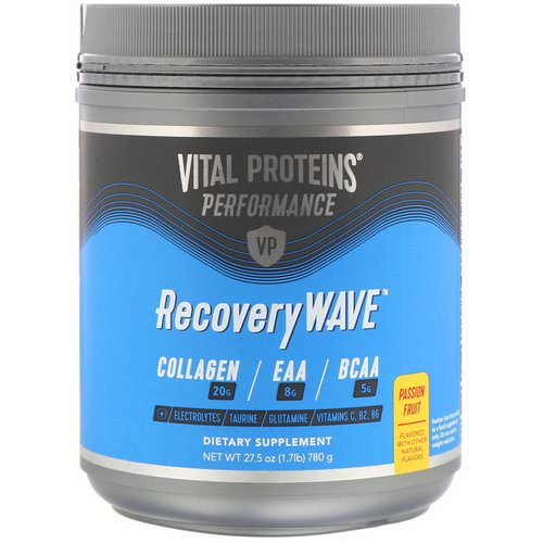 Vital Proteins, Performance, RecoveryWave, Passion Fruit, 27.5 oz (780 g) Review