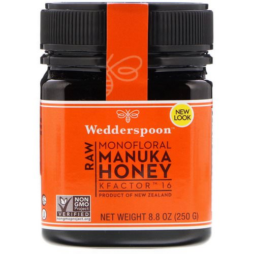 Wedderspoon, Raw Monofloral Manuka Honey, KFactor 16, 8.8 oz (250 g) Review